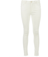 FIVEUNITS 5Units PENELOPE CROP Skinny Jeans in Creme-Weiß