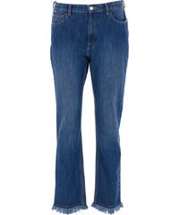 Each x Other Jeans mit Fransen in Blau