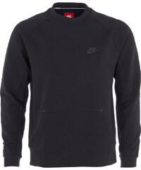 Nike TECH FLEECE CREW Sweatshirt in Schwarz