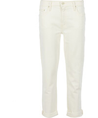Mother THE DROPOUT Jeans in Creme