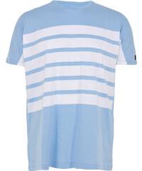 Zanerobe HIGHWAY EZBOY T-Shirt mit Streifen in Blau-Weiß