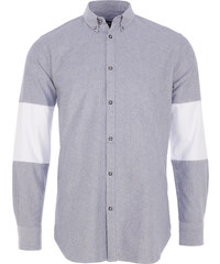 Zanerobe Cutout 7FT Herrenhemd in Grau meliert