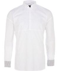 Zanerobe SOLAR Herrenhemd mit Bündchen in Weiß