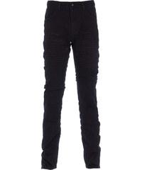 Versuchskind Berlin Versuchskind X2-T TAPERED Jeans mit Knitter Details in Schwarz