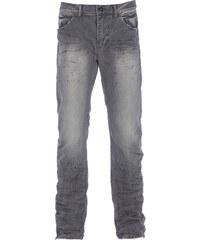 Versuchskind Berlin Versuchskind X2-T TAPERED Jeans mit Knitter Details in Grau