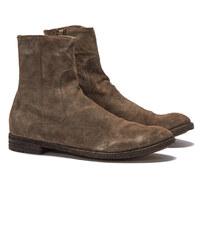Officine Creative ARCHIVE062 T. BIS Stiefel in Braun-Grau