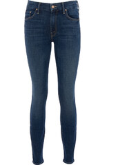 Mother LOOKER High Waisted Jeans in Blau