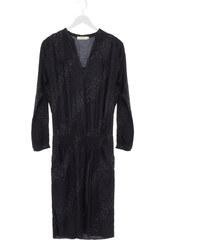Rabens Saloner Kleid mit Leo-Print in Grün-Blau