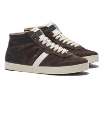 D.A.T.E COURT High-top Sneakers in Braun