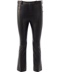 Drykorn VIBE Hose in Leder-Optik in Schwarz