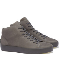 The Last Conspiracy x Ecco GUNNAR Mid Top Sneakers in Grau