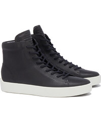 The Last Conspiracy x Ecco GRIF High Top Sneakers in Schwarz