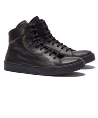 The Last Conspiracy CURT Hightop Sneakers in Schwarz