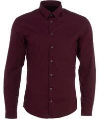 Drykorn MARIS Slim-fit Klassisches Hemd in Weinrot