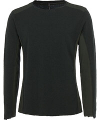 Transit Longsleeve Material-Mix in Grün