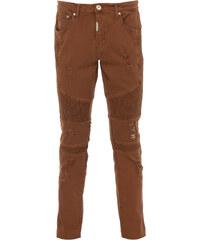 REPRESENT BIKER DENIM Jeans Used-Look in Hellbraun