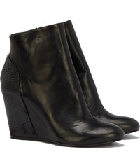 The Last Conspiracy MANON Ankle Boots in Schwarz