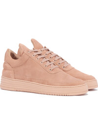 Filling Pieces MONOTONE STRIPE Low Top Sneakers in Nude