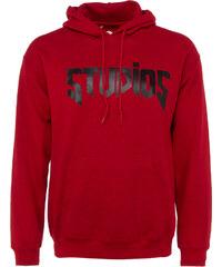 Yarn STUDIOS Pullover mit Kapuze in Rot