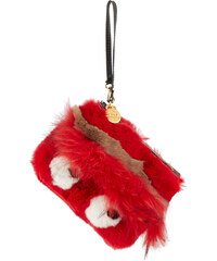 Gum by Gianni Chiarini PC INDFURRY Fell Pochette in Rot