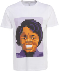 Very Important Pixels 'James Brown' T-Shirt in Weiß