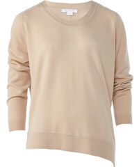Duffy TAUPE Feinstrickpullover in Altrosa