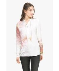 Desigual smetanová dámská košile Lidia