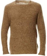 Best Mountain Pullover mit Wollanteil - khaki