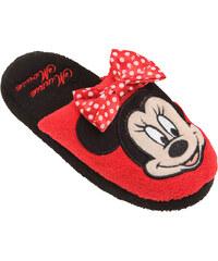Disney Minnie Hausschuhe rot in Größe 28 für Mädchen aus 100% Polyester