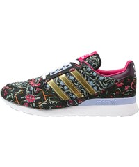 adidas Originals ZX 500 Baskets basses core black/gold metallic/merlot