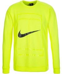 Nike Performance COURT CREW Sweatshirt volt/black