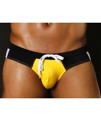 WJ UNDERWEAR Plavky (slipy) WJ Square Yellow S