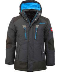 Trollkids Chlapecká zimní bunda Narvik - šedá