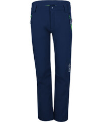Trollkids Dětské softschellové kalhoty Fjell - tmavě modré