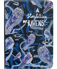 Disaster Designs modrý obal na iPad Mini Collective Noun Raven