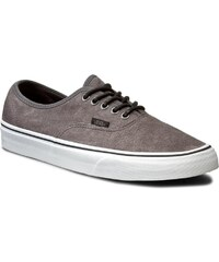 Tenisky VANS - Authentic VN0004MLJPL (Textured Suede) Pewter/P