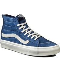 Sneakersy VANS - Sk8-Hi Slim Zip VN000XH8JRO (Scotchgard) Obsidian/Bla