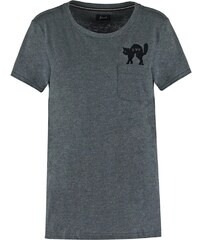 Forvert REGINA Tshirt imprimé black melange