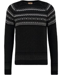 120% Cashmere Pullover black grey anthracite
