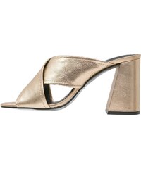 Topshop RIOT Mules gold
