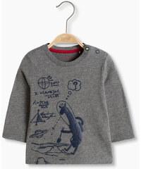 Esprit Bavlněné tričko s plastickým potiskem