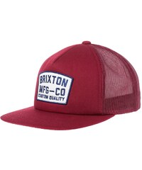 Brixton NATIONAL Casquette burgundy