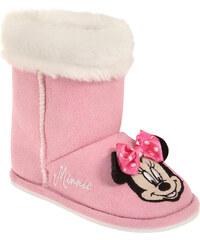 Disney Minnie Hausschuhe pink in Größe 26/27 für Mädchen aus 100% Polyester