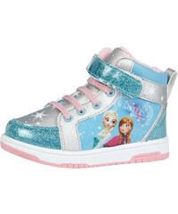 Disney Die Eiskönigin Sneaker high - mit Kunstfell hellblau in Größe 25 für Mädchen aus 100% Polyester