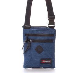 Látková taška přes rameno modrá - Enrico Benetti 4499 modrá