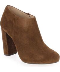 Boots Femme Unisa en Cuir velours Camel