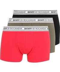 Brooklyn's Own by Rocawear 3 PACK Shorty black/kaki/red