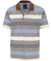 Tričko BABISTA hnědá melanž-modrá