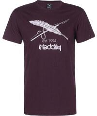 Iriedaily Harpoon Flag T-Shirt red wine