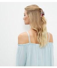New Look Pince à cheveux rose à imprimé floral